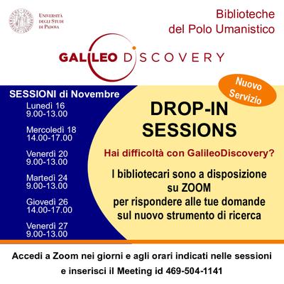 Drop in sessions QUARTA PARTE