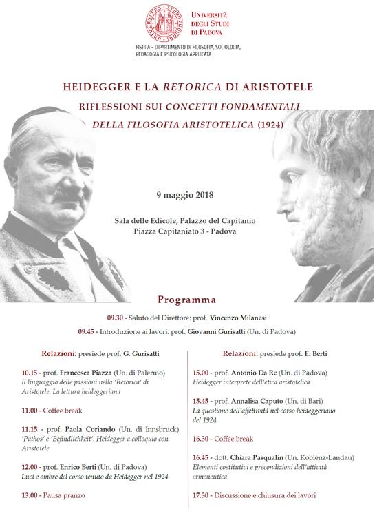 Heidegger Aristotele